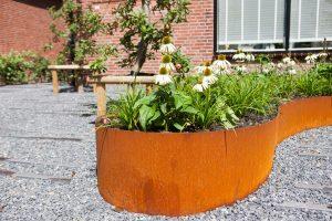 Organische bloembak