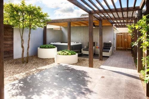 Ruimtelijke invulling wellness tuin